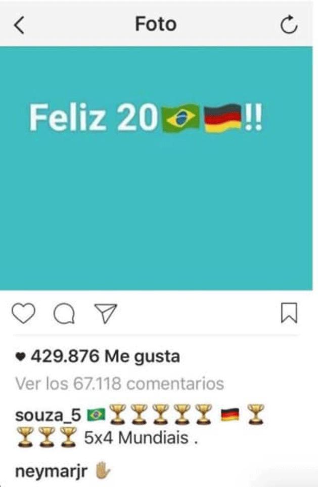 Neymar reagált Kroos sértő képére