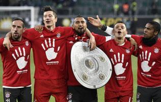 Bundesliga: sorozatban ötödször bajnok a Bayern München!